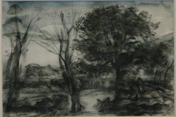 1004: 5 original ink works on paper