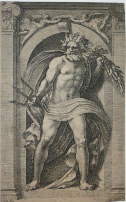 1010: Goltzius. Neptune. c.1592