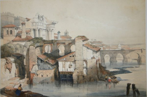 1018: Roberts, PICTURESQUE SKETCHES IN SPAIN, 10 plates