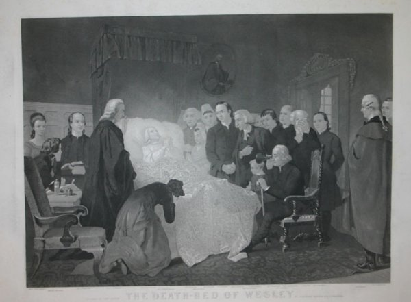 1024: [John Wesley]. 2 Lithographs, 5 copies of each.