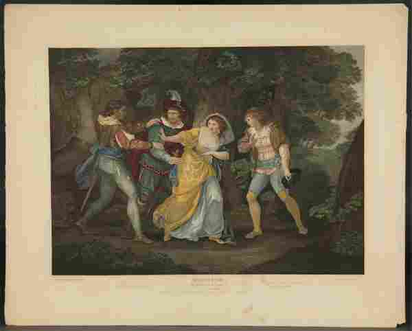 Boydell's Shakespeare. 10 Reworked Plates. 1852.