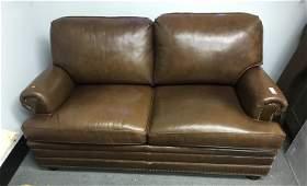 Hancock & Moore Leather Love Seat