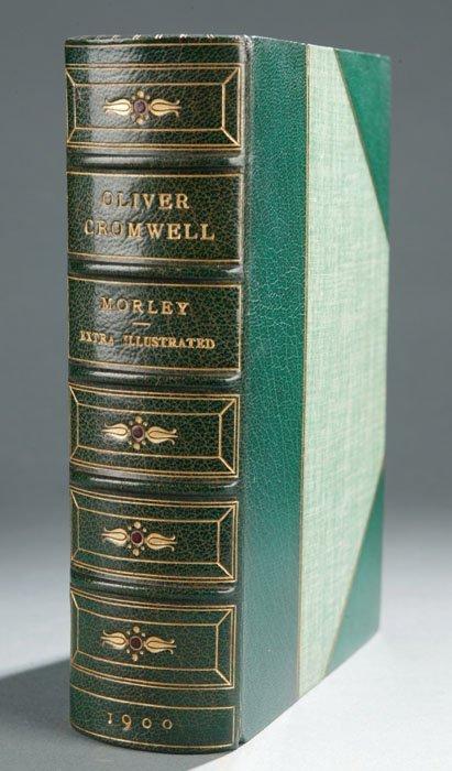 2017: John Morley OLIVER CROMWELL, 1900, bdg. by Root.