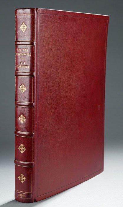 2018: Gardiner OLIVER CROMWELL, 1899, mor bdg, #522/147