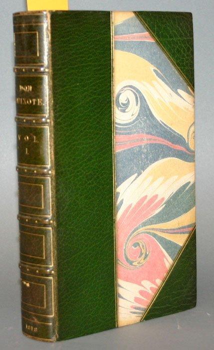 2024: Cervantes, DON QUIXOTE, 4v, 1818, 48 plates.