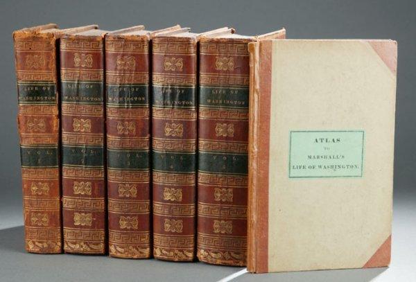 2103: Marshall THE LIFE OF GEORGE WASHINGTON, 6v 1805-0