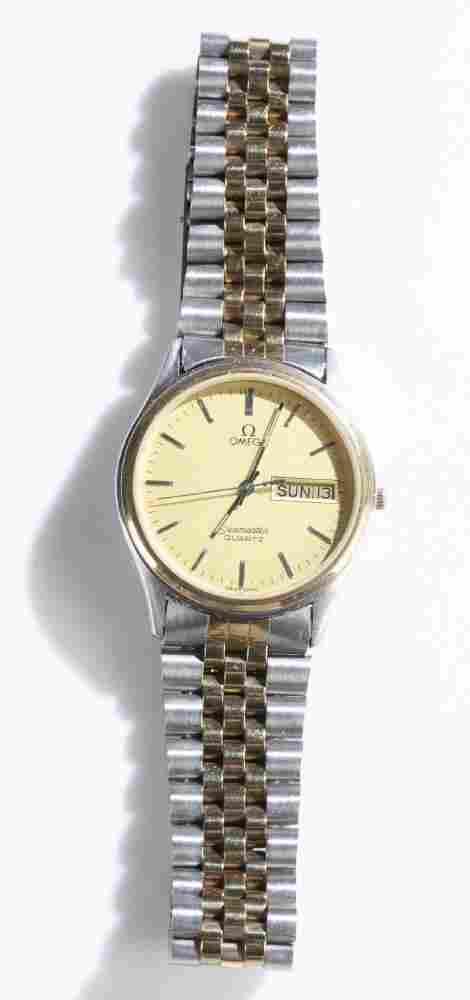 Omega Stainless Steel Seamaster Quartz wristwatch