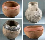4 West African Utilitarian Objects 20th c