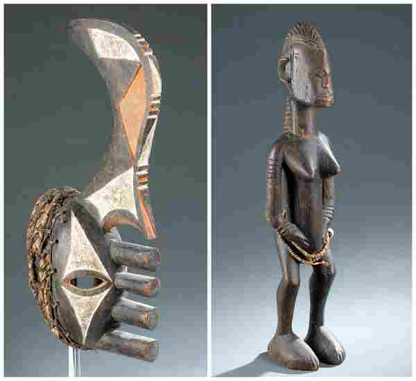 2 West African Objects. 20th c.