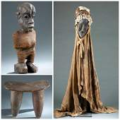 3 West African Objects. 20th c.