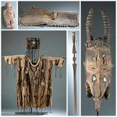 5 West African Objects. 20th c.