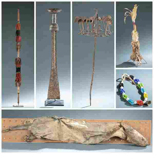 6 Ethnographic Personals Objects. 20th c.