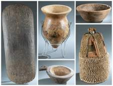 5 Ethnographic Personal Objects. 20th c.
