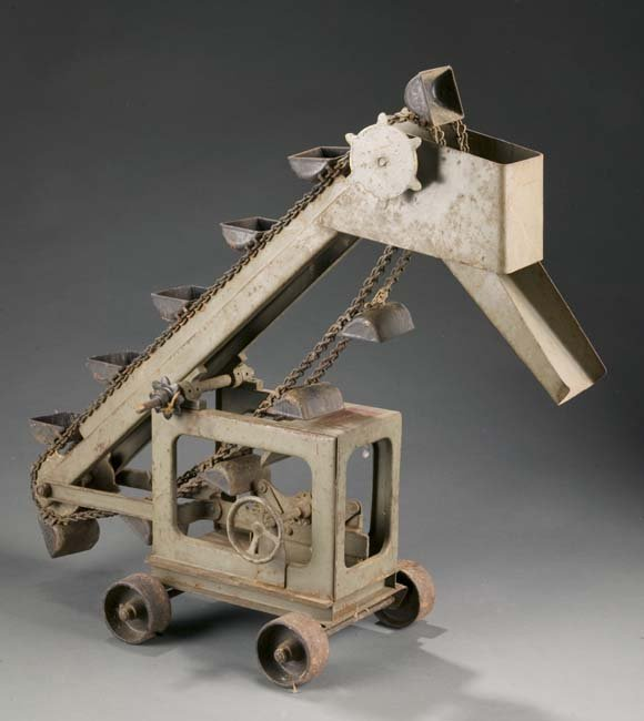 2003: Buddy L Pressed Steel Sand Loader, 1920's