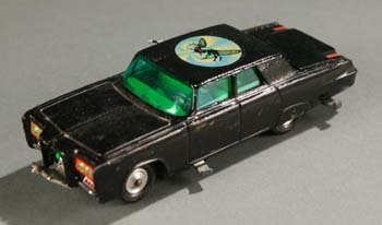 2011: Corgi ''The Green Hornet'' Black Beauty Toy Car