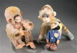 2066 Steiff Monkeys Mungo Cocoli Original Steiff