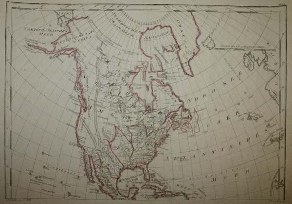 1004: 2 maps incl Austrian map of New World [c1763-1770