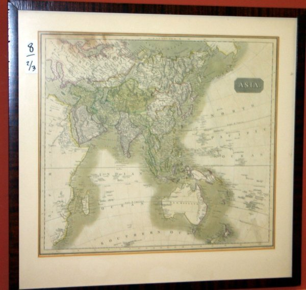 1008: 3 maps: Asia, Africa, Europe. 1780-1817.