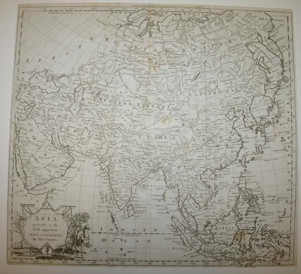 1012: 3 maps: China/Asia, [c1640] - [1785].