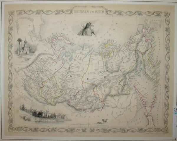 1013: 15 maps: Asia, etc., 1800s