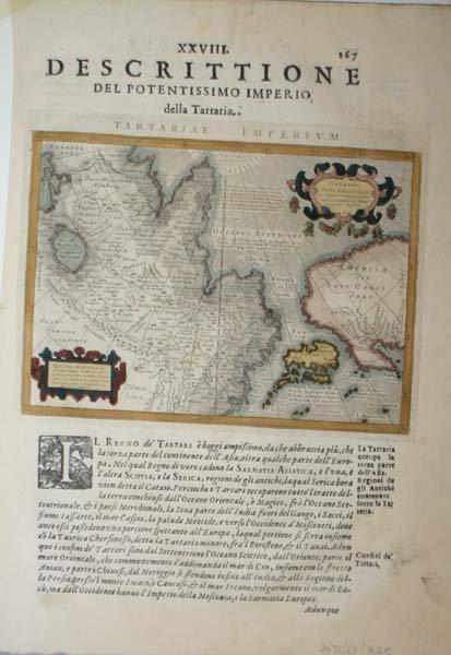 1019: Magini, 3 handcol maps, Asia, c.1621