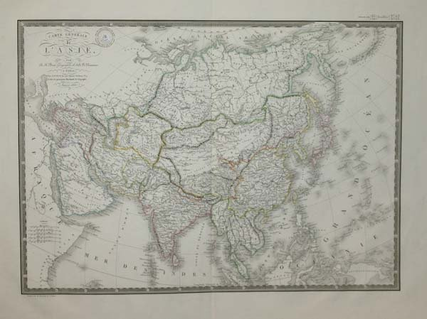 1020: Asia: 3 maps, early 1700 - 1820