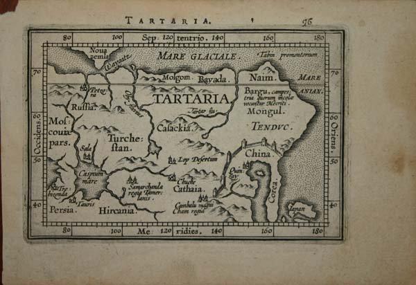 1022: Ortelius: 3 maps, IL TEATRO DEL MUNDO [c1598-1612