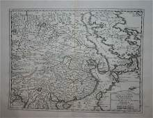 1028 Asia 4 maps Late 17th to 18th Century