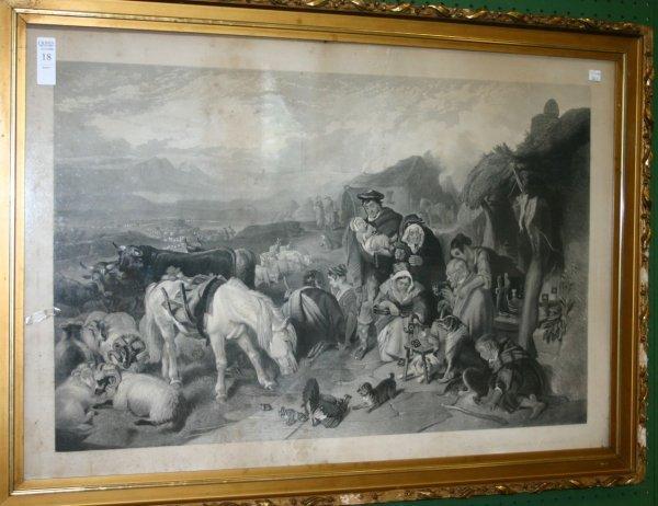 18: Edwin Landseer, ''Highland Drover's Departure...''