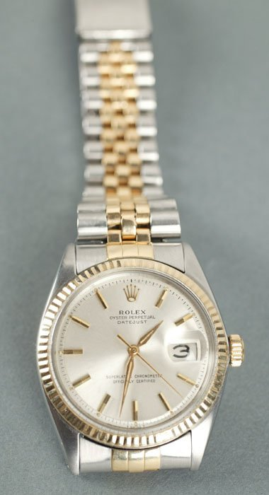 122: Rolex oyster perpetual datejust watch