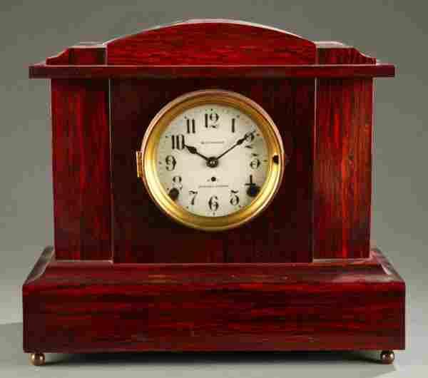 Seth Thomas Sonora Chimes Adamantine mantle clock
