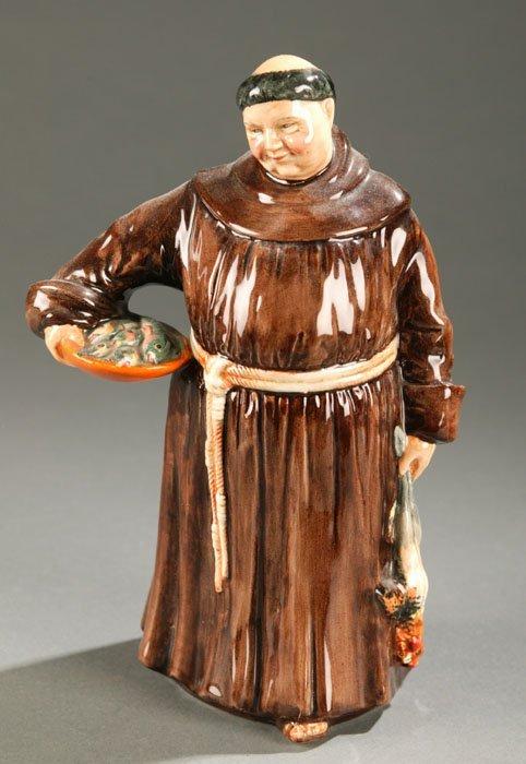 3013: Royal Doulton  figure ''Monk/Friar''. 8''