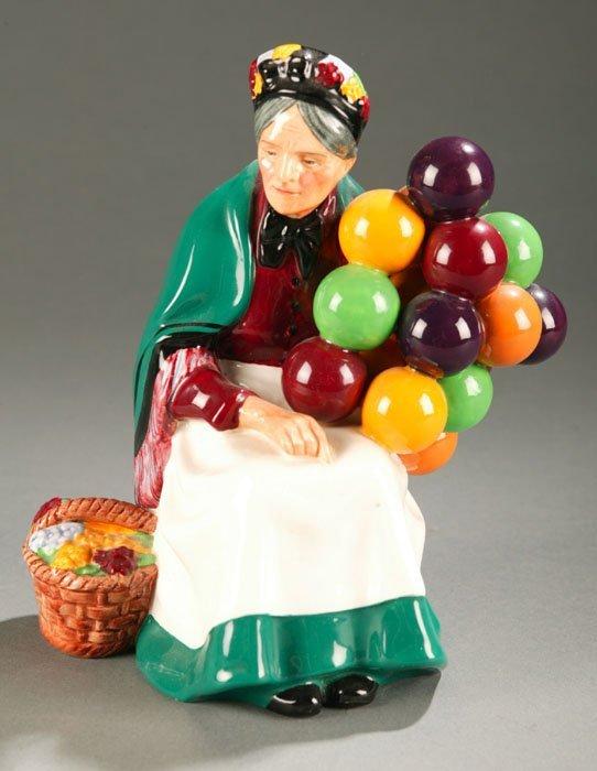 3015: Royal Doulton figure ''Old Balloon Seller'