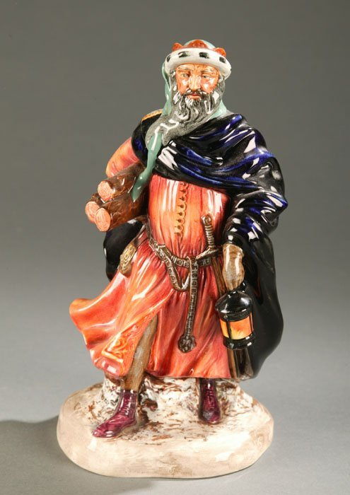 3017: Royal Doulton figure ''Good King Wenceslas