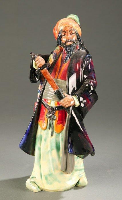 3019: Royal Doulton figure ''Blue Beard''. 11''