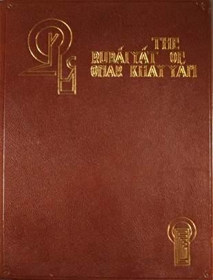 [Hanscom illus]. The Rubaiyat Of Omar Khayyam