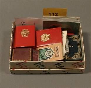 [Children's/Miniatures]. 19 Calendars.