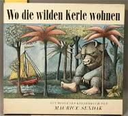 1197: Sendak, Maurice. Wo Die Wilden Kerle Wohnen.