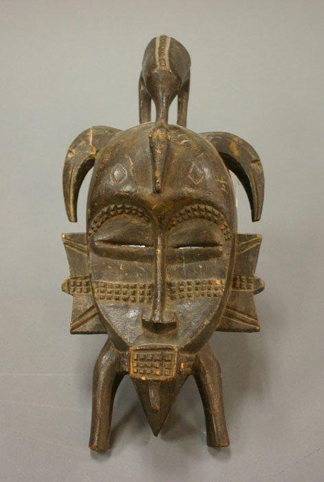 4008: Senufo African mask