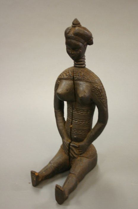 4013: African carved spirit wife fertility