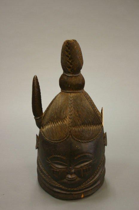 4014: Mende helmet mask Sierra Leone