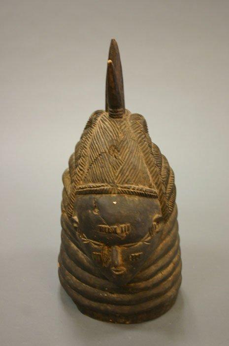 4015: Mende helmet mask Sierra Leone