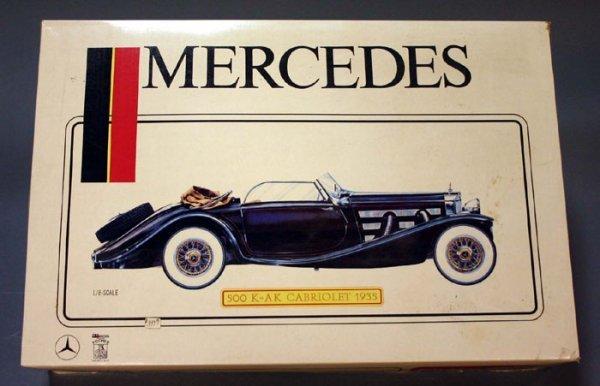 4503: Pocher (Italy), Mercedes 500 K-AK Cabriole