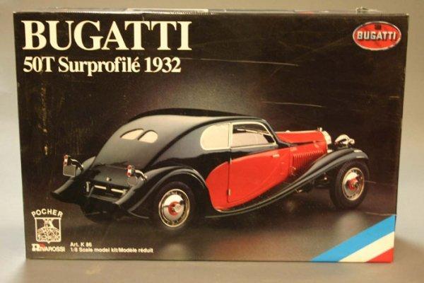 4507: Pocher (Italy), Bugatti 50T Surprofile 193