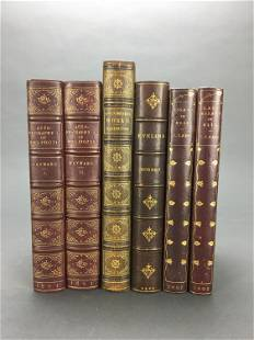 Literature 12 Volumes in leather