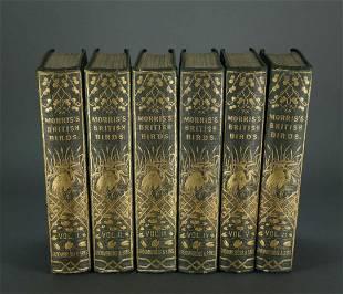 Morris A History of British Birds 6 vols 1865