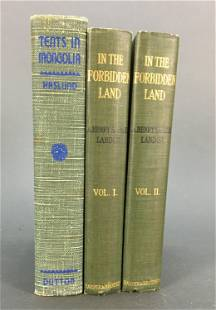 3 vols Incl In the Forbidden Land 1899