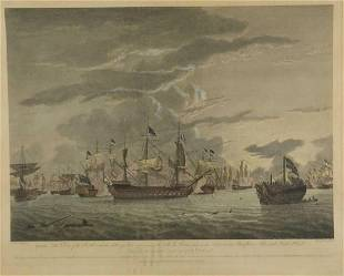 The Close of the Battle with the Setting Sun1783