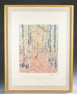 Forest King Moses Abstract Forest 20th c