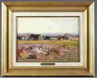 Vincent Benito Botella Spanish Landscape 20th c